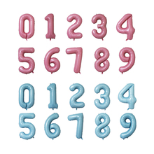 Party Foil Balloon Alphabet Number Wedding Baby Shower Balloons Decoration Happy Birthday Celebration Decor Supplies  D20 16inch letters 2020 happy new year foil balloons happy new year party decoration alphabet air balloon baby shower event supplies