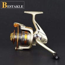 BESTACKLE Hot Selling 1000-9000 Series 3BB/ 8BB /12+1BB Carp Fishing Spinning Reel Left and Right  Fishing Gear Tackle цена
