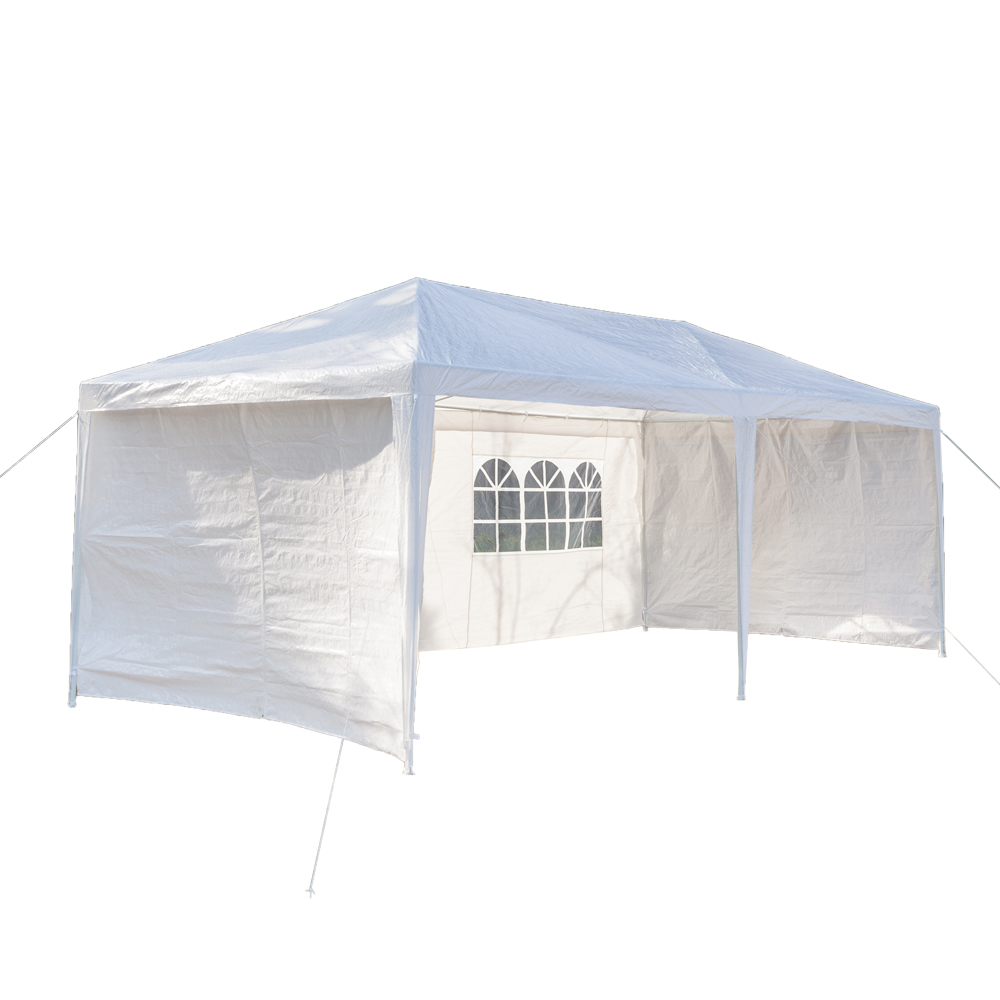 Enclosed Garden Canopy Waterproof Tent with Spiral Tubes Instant Tent Canopy Rectangle Sand for Patio Garden Outdoor Activities
