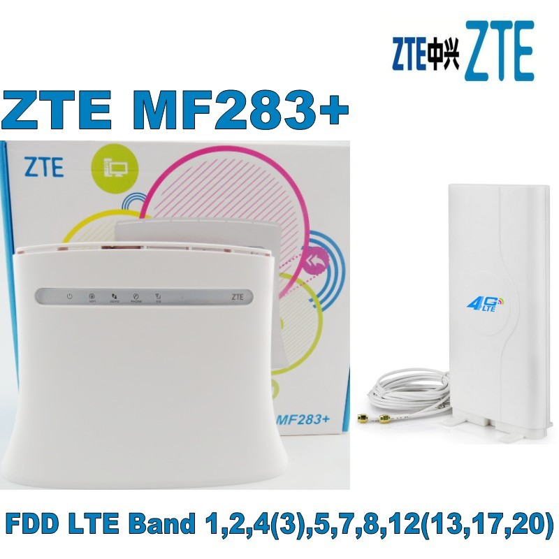 ZTE MF283+ plus 4G LTE antenna-in 3G/4G Routers from Computer & Office    1
