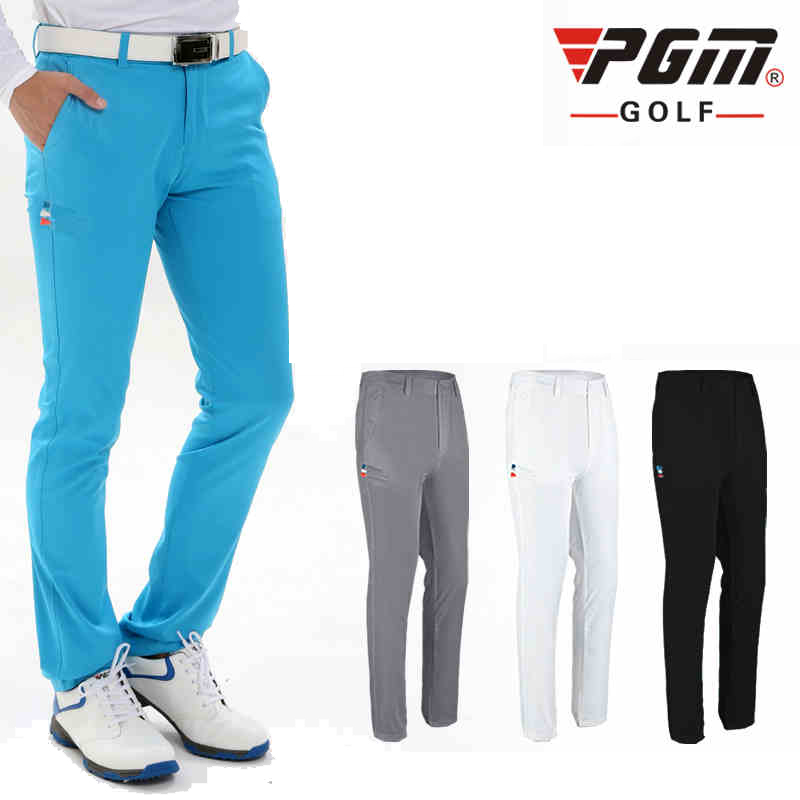 цена на 2017 Men's Golf Pants Quick Dry Waterproof Sports Colorful Golf Trousers Summer Thin Pants Outdoor Golf Clubs Brand