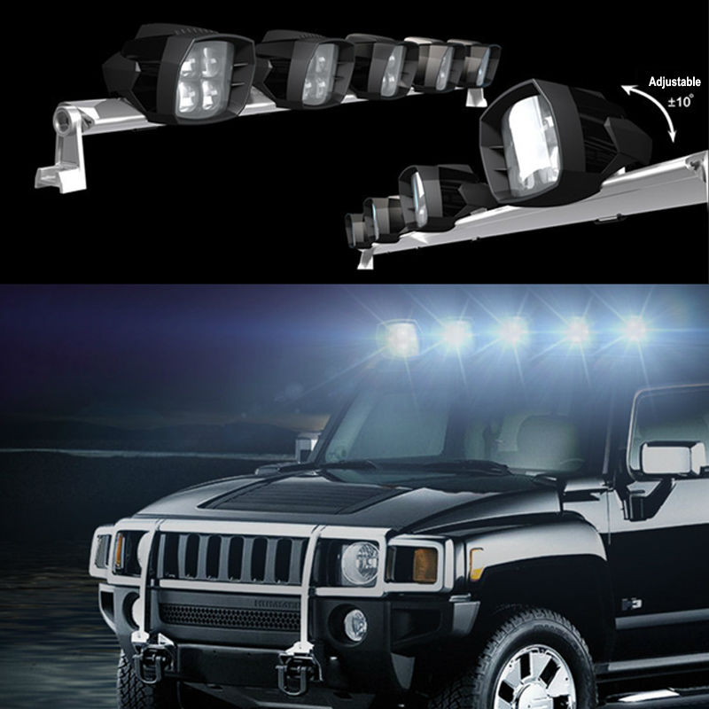 5 inch 40W led driving light  5w XTE chip 12V 24V Off road 4x4 used Fog Driving light fit for car truck JK Wrangler suv 4x4 boat 2016 new super bright 50w 12 inch 9 led car off road lamp 9 32v ip68 automobile truck work light fog driving light energy saving