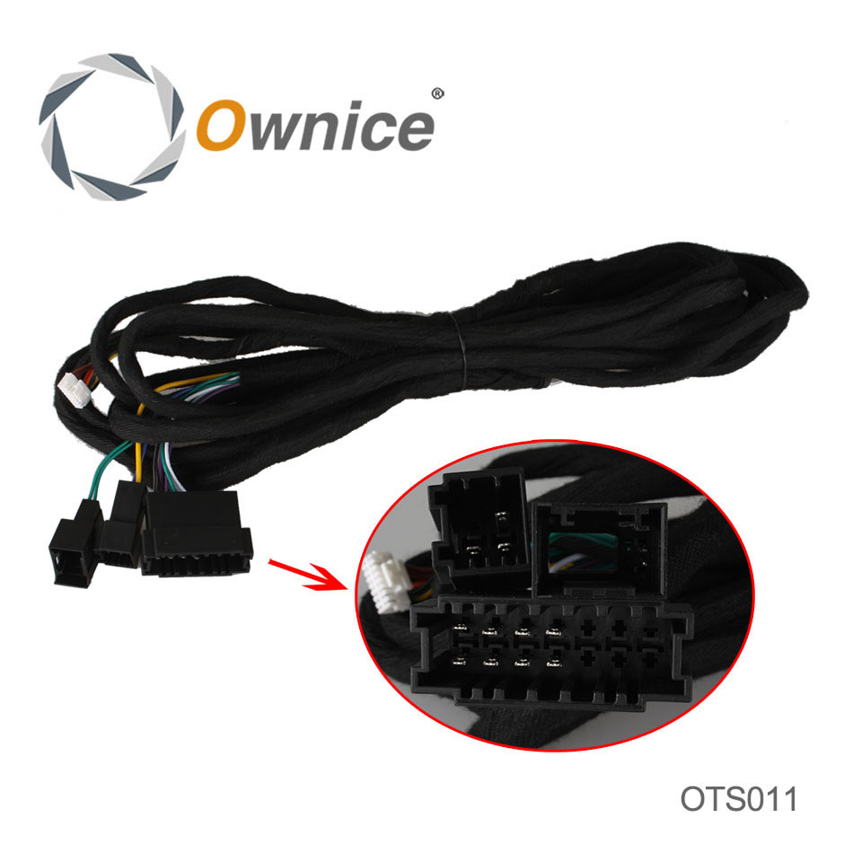 Special 6M Power Cable For Ownice C200 Benz E Class DGS7949 Car DVD, this item dont sell separately.