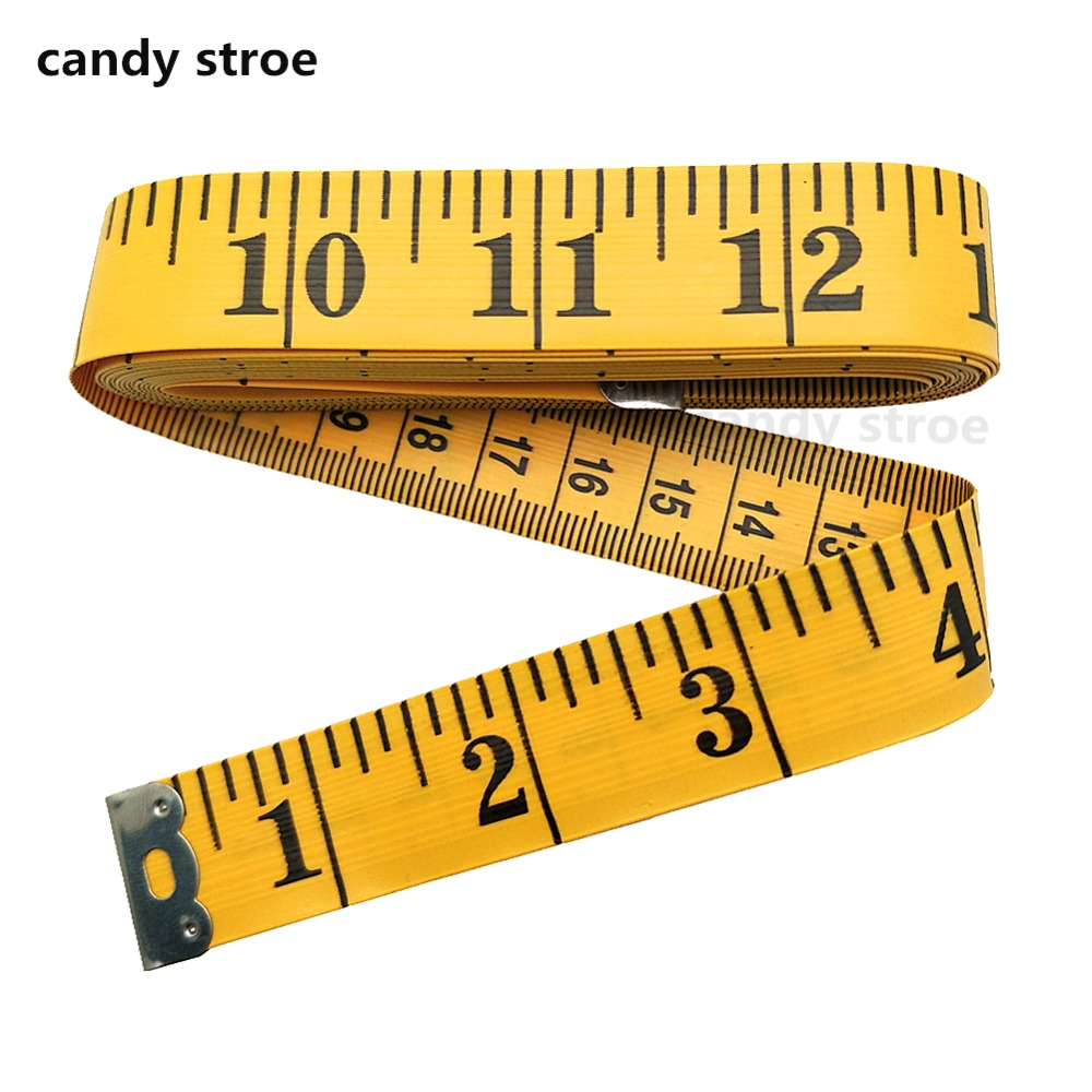 Soft Tape Measure for Sewing Tailor Cloth Ruler 120-Inch Extra Long Flexible ...