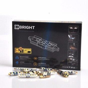 16pcs Error Free Xenon White 14K Gold Interior LED Light Kit for  Jeep Grand Cherokee 2011+ WITH Samsung 3030 LED
