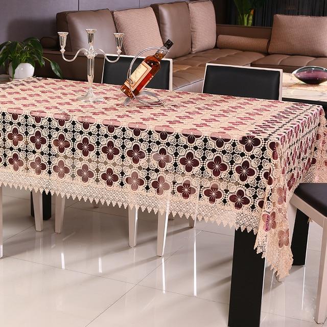 Tischdecken Handgemachte Stickerei Runde Spitzetischdecke ...