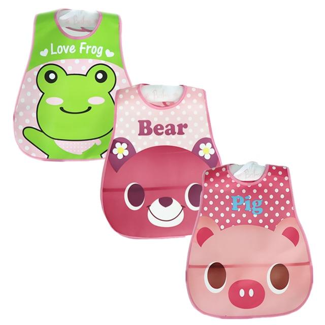 Baby Bibs Waterproof 3 Pieces/lot Lunch Bibs Infant Burp Cloths 2016 Brand Clothing Towel Kids Clothing Accessories