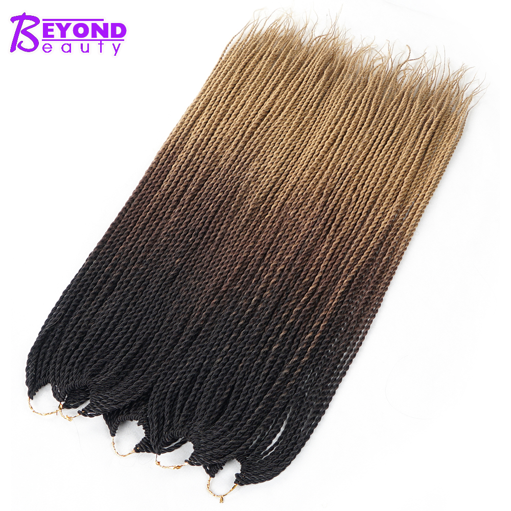 Beyond Beauty Ombre Senegalese Twist Crochet Hair Extensions
