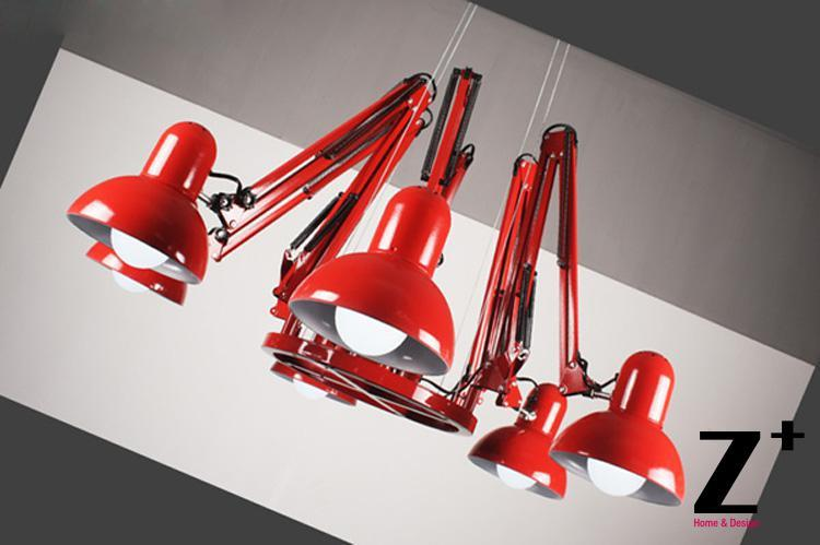 Replica item e27 dear ingo spider 91216 arms blackwhitered replica item e27 dear ingo spider 91216 arms blackwhitered chandelier lamp suspension free shipping in pendant lights from lights lighting on aloadofball Images