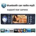 Новый 3.6 дюймов TFT экран HD автомобильный радио MP4 MP5 плеер USB/SD 1080 P car audio bluetooth стерео поддержка камера заднего вида функции