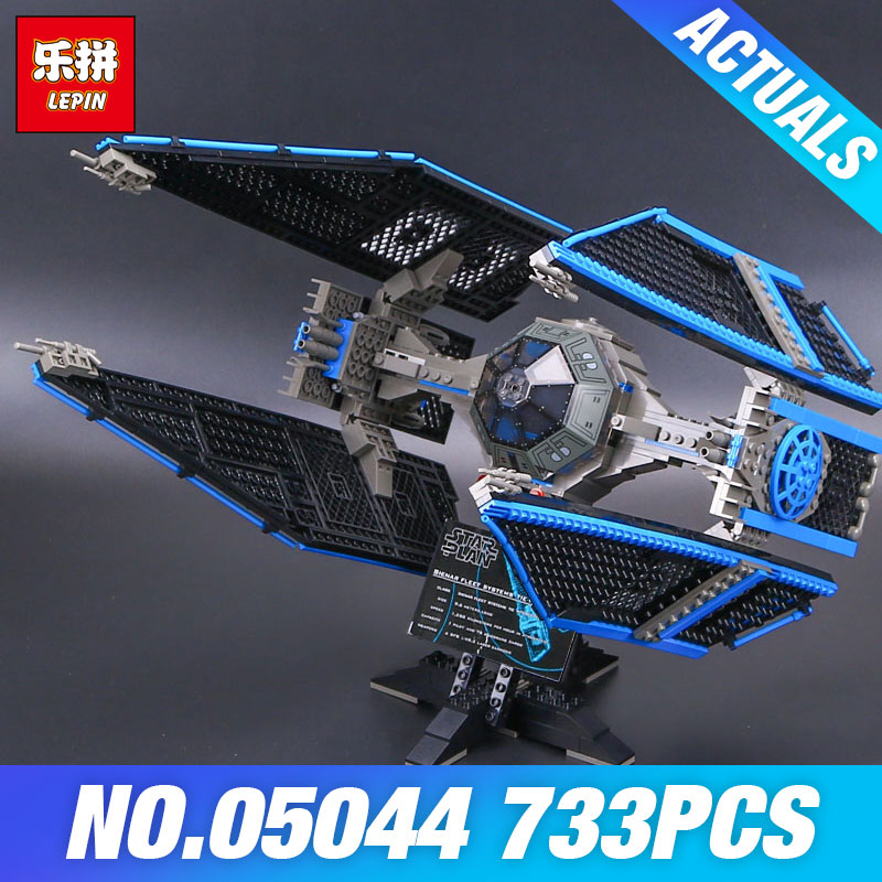 Lepin 05044 Star Plan 7181 TIE Interceptor Limited Edition Model Building Blocks Bricks Educational Kids Wars Christmas Gifts