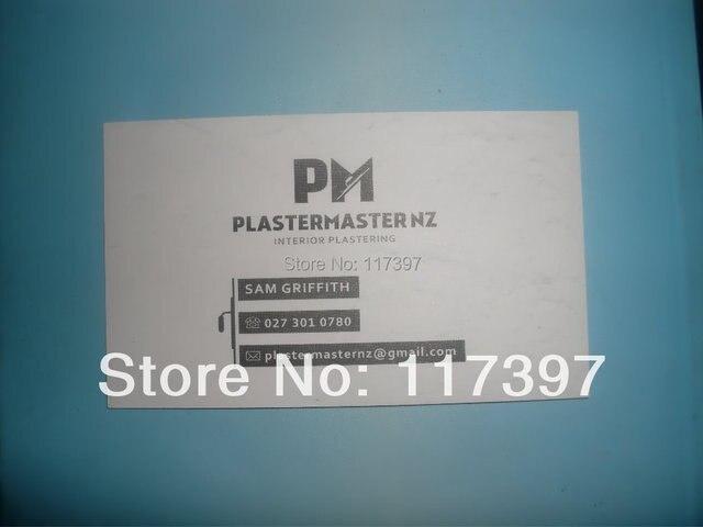Taille 9X54 Cm 300g Carte De Papier Visite Avec Logo Personnalis