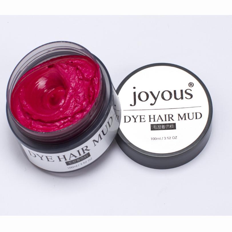 Радостные 100% бренд realer одно время краситель, краска для волос спрей для волос грязи крем Для мужчин; краска для волос- токсичных 100 мл крем дл...