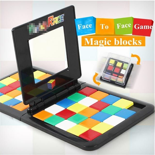 Block Race Board Game