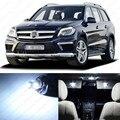 17 x LED Pacote Interior Luz de Leitura Luz Para Benz ML Class W164 ML300 ML350 ML550 ML63 AMG Interior dome mapa Luz Kit