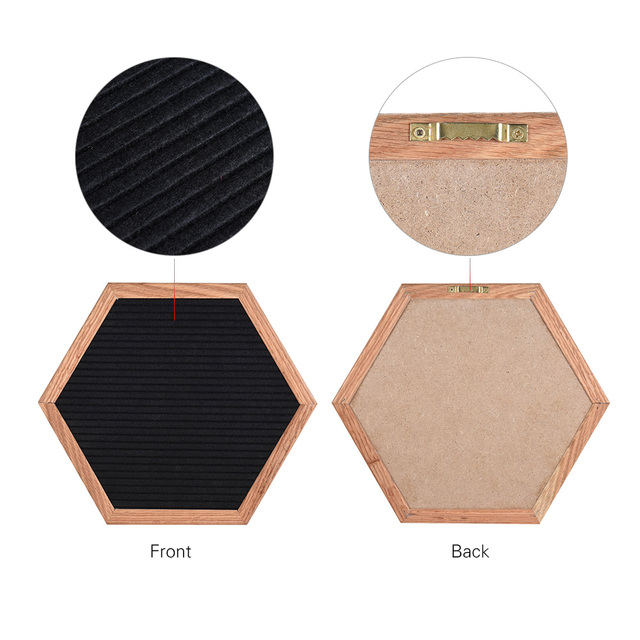 Hexagon Felt Letter Board