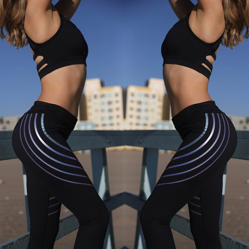 leggings women Hot style fashion womens fitness printing and slimming breathable movement of the pants leggings