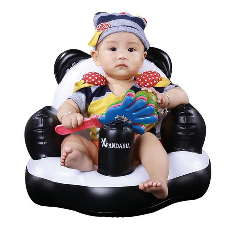 2017 Baby Seat Traning Tools Cartoon Kids Seats Baby Sofa Baby Chair Baby Inflatable Sofa Pushch
