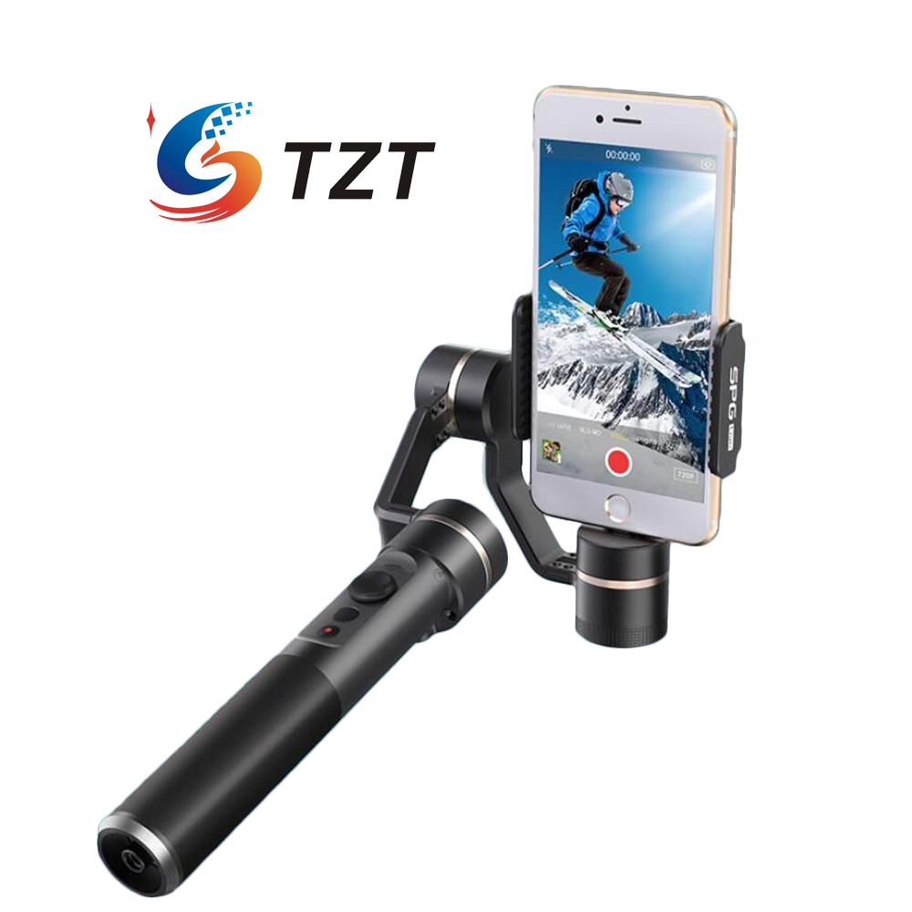 ФОТО feiyu spg live 3 axis stabilized handheld gimbal stabilizer ptz for iphone samsung s7 smartphone