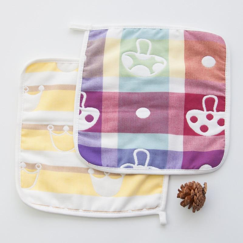 VERATI Sześciowarstwowy ręcznik w kształcie kwadratu z ręcznikiem - Opieka nad dzieckiem - Zdjęcie 2
