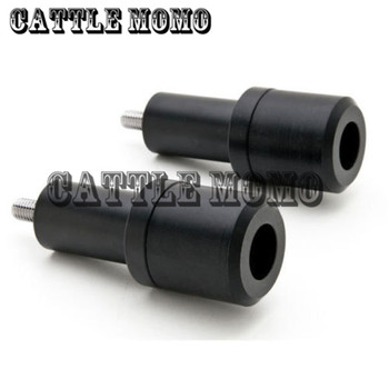 Motorcycle No Cut Frame Sliders For Honda CBR 600RR CBR600RR 2003 2004 2005 2006 Motorbike Frame Sliders Black/Carbon color
