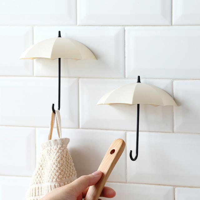 Umbrella Shaped Decorative Key Hanger