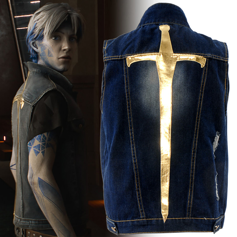 Ready Player One Movie Wade Watts Parzival Cosplay Cowboy Vest Costume Waistcoat