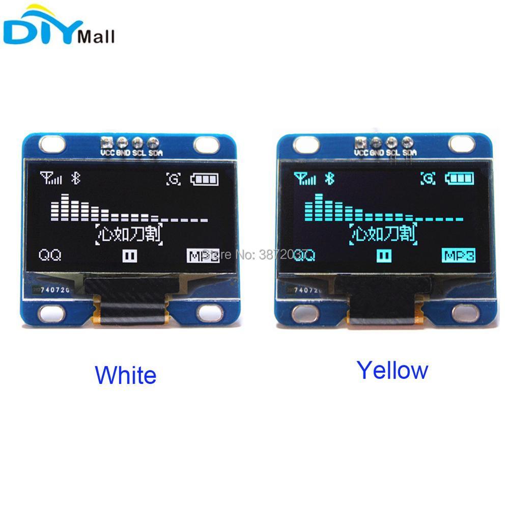 1.3 1.3inch OLED Display Module LCD Screen 128X64 I2C IIC Serial SH1106 for Arduino 51 MSP420 STIM32 SCR