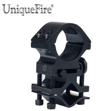 UniqueFire uchwyt rowerowy 1 cal zakres pierścień mocujący dla latarka laserowa mocowanie korpusu do przodu dotrzeć do montażu na tanie tanio Latarka góra holder QQ07 Ze stopu Aluminium ze stopu Aluminium