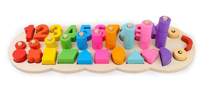 Children's Wooden Montessori Toy