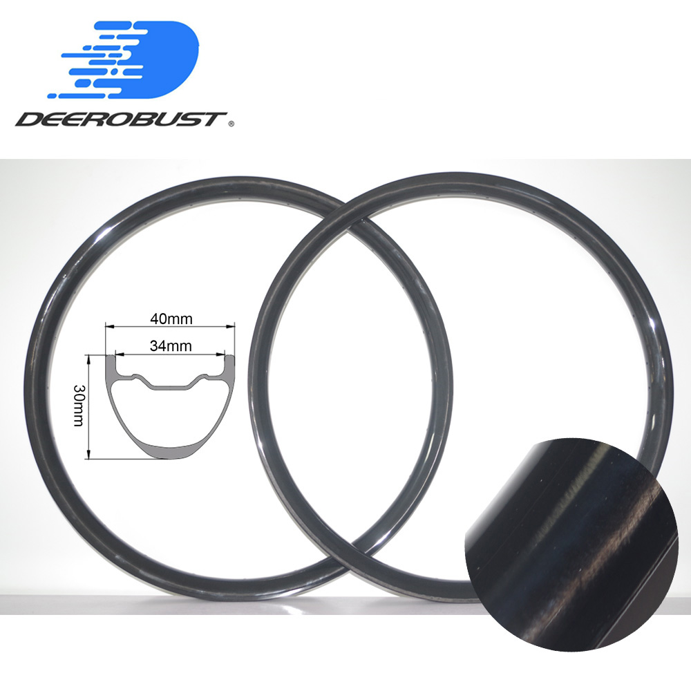 29er DH Carbon Mountain Bike Rims 30mm x 40mm DownHill FR Bicycle Wheel MTB Hookless Tubeless Clincher Rim UD 3K 12K Twill 32H29er DH Carbon Mountain Bike Rims 30mm x 40mm DownHill FR Bicycle Wheel MTB Hookless Tubeless Clincher Rim UD 3K 12K Twill 32H