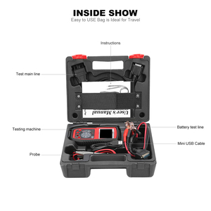 Image 5 - Autel AutoLink AL539B OBD2 Code Reader OBDII CAN Scanner Auto Diagnostic Tool Circuit and Battery Test Car Electrical Tester