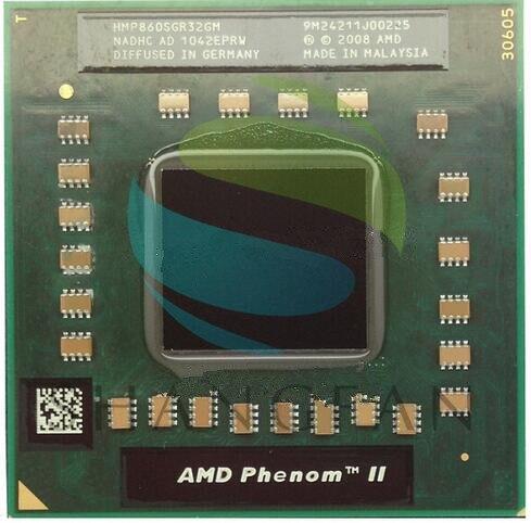 AMD P860 HMP860SGR32GM CPU Três núcleo de baixa potência general V140 V160 V120 atualização laptop processador