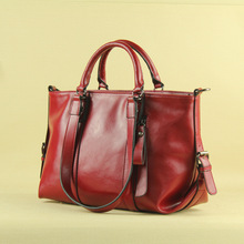 lady handbag 2016 elegant one shoulder casual cowhide cross-body handbag female bags