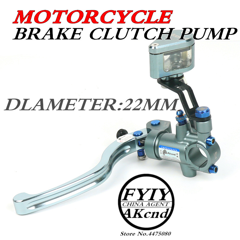 akcnd Universal All With 22 mm diameter PX1 motorcycle brake clutch pump master cylinder lever handle For bws smax R1/R6 tmax