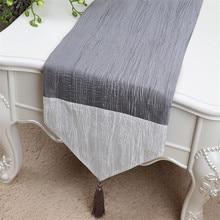 Вышитый садовый стол флаг скатерть журнальный столик дорожка кровать флаг для шкафа Настольный коврик длинный стол дорожка