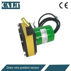 Sensor linear 4 do deslocamento de CWP-S2300 mm a 20ma/0 a 10 v potenciômetro da corda