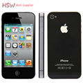 100% Original Unlocked iPhone 4S Mobile Phone 16GB 32GB 64GB ROM Dual core WCDMA 3G WIFI GPS 8MP Camera Used apple Cell phone