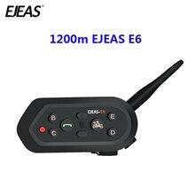 1200 м EJEAS E6 мотоциклетные Связь Системы Vox Bluetooth мотоцикл домофон Moto Шлемы-гарнитуры Motorradhelm Bluetooth