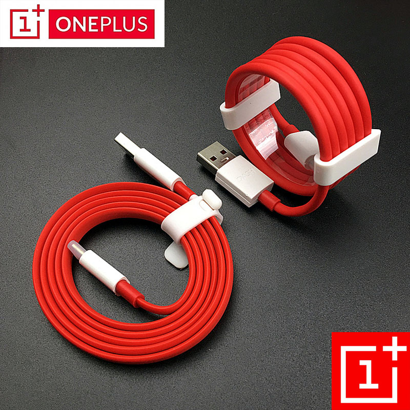 Original 35CM/100cm/150cm/200cm Red 4A Usb 3.1 Type C Cable Oneplus 6 Dash Charger Cable for A Plus 6 T 5 t 5 3 t 3 Mobile Phone
