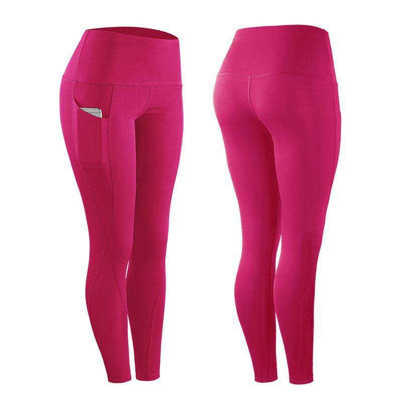 Женские Эластичные Компрессионные Леггинсы для верховой езды, фитнеса, спортивные Леггинсы с высокой талией, пояс для тренировок, штаны для фитнеса - Цвет: M