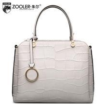 free delivery Genuine Leather Women bag 2016 new crocodile pattern handbag Fashion Shoulder Messenger Bag