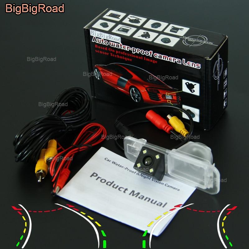 все цены на BigBigRoad Car Intelligent Track Rear View Camera For KIA Rio / K2 Sedan 2007 2008 2009 2010 2011 2012 2013 2014 2015 2016 2017 онлайн