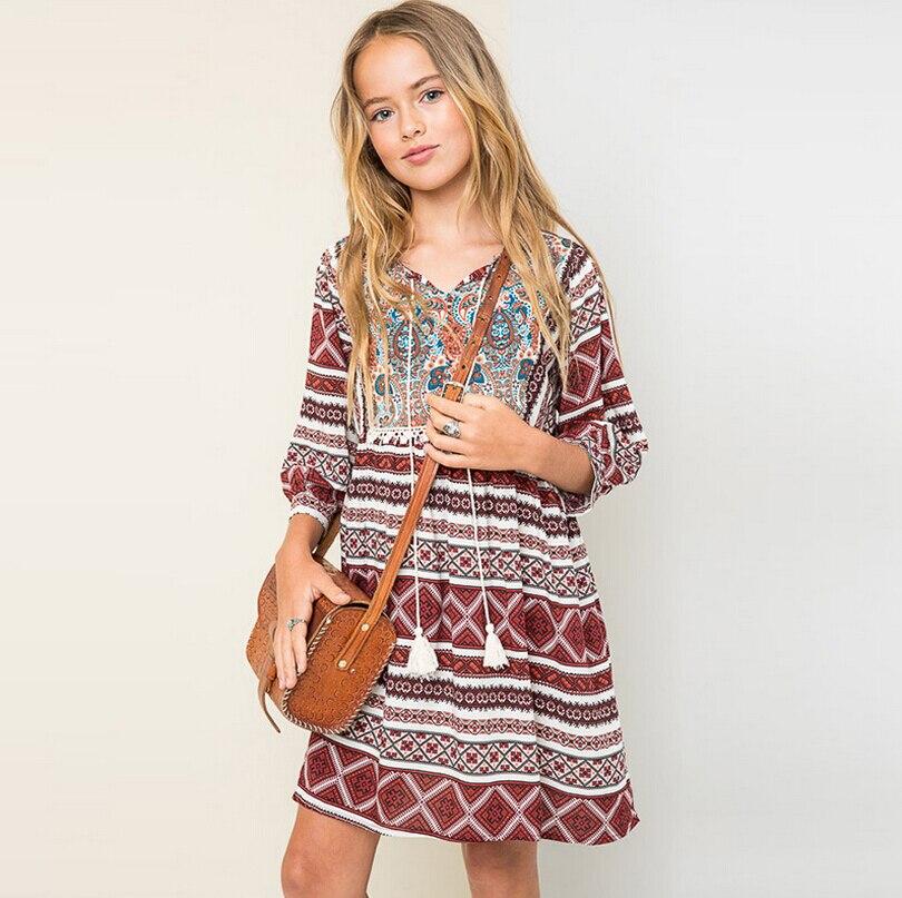 font b girls b font elegant dresses autumn costumes 12 years teenagers font b girls