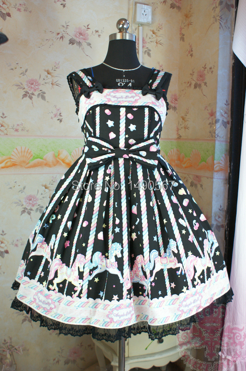 все цены на Alice In Wonderland Anime Cosplay Costume Lolita Dress Party Halloween Cosplay Costume Fantasia Costumes For Women S M Black