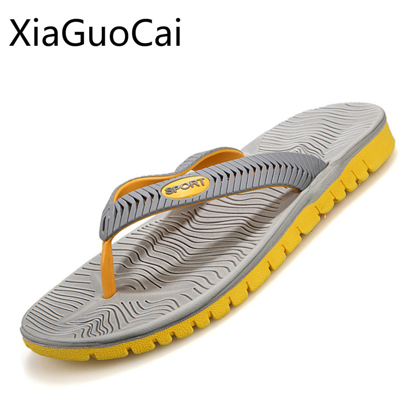 Lightweight Fashion Men Slippers Hot Sale Pvc Male Beach Slippers Flip Flops Casual Slides for Students Cheap Drop Shipping 35 hot sale natural man hemp flip flops summer breathable fashion beach sandal shoes men s casual canvas slides shoes free shipping
