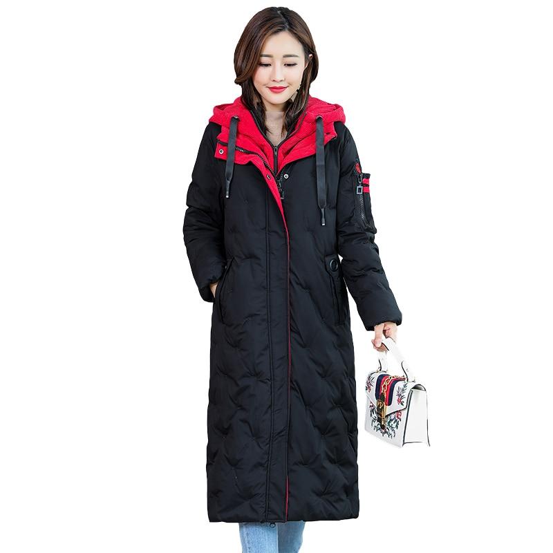 red Bas Grande Taille Coréen Coton Balck L021 Manteau Haut Style Le Vers 200 Kg Feminina Porter 2019 Lâche Veste Longue And jaune Parka Femme Black Pour D'hiver Vêtements Red HCIFnwqxt