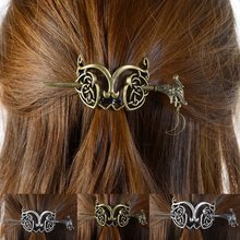 Viking Celtics Knots Viking Runes Dragons Hairpin Vintage Metal Stick Slide Hair Clips Women Hair Jewelry Accessories Gifts(China)