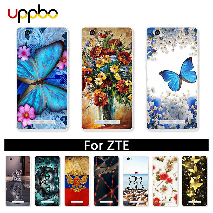 Uppbo Cases For ZTE Blade A610 Plus A6 Lite Axon 7 Mini A910 A602 A601 A522 A520 A511 A510 A5 A460 A452 A330 A310 A320 GF3 L5 L7