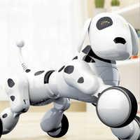 Dog Robot Dog Digital Pet Music Intelligent Robot 2.4G Wireless Remote Control Electronic Toys Talking Toys Educational Kid Gift